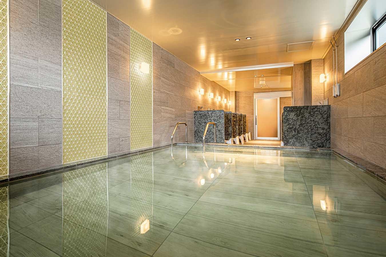 癒しを叶える大浴場(4階)