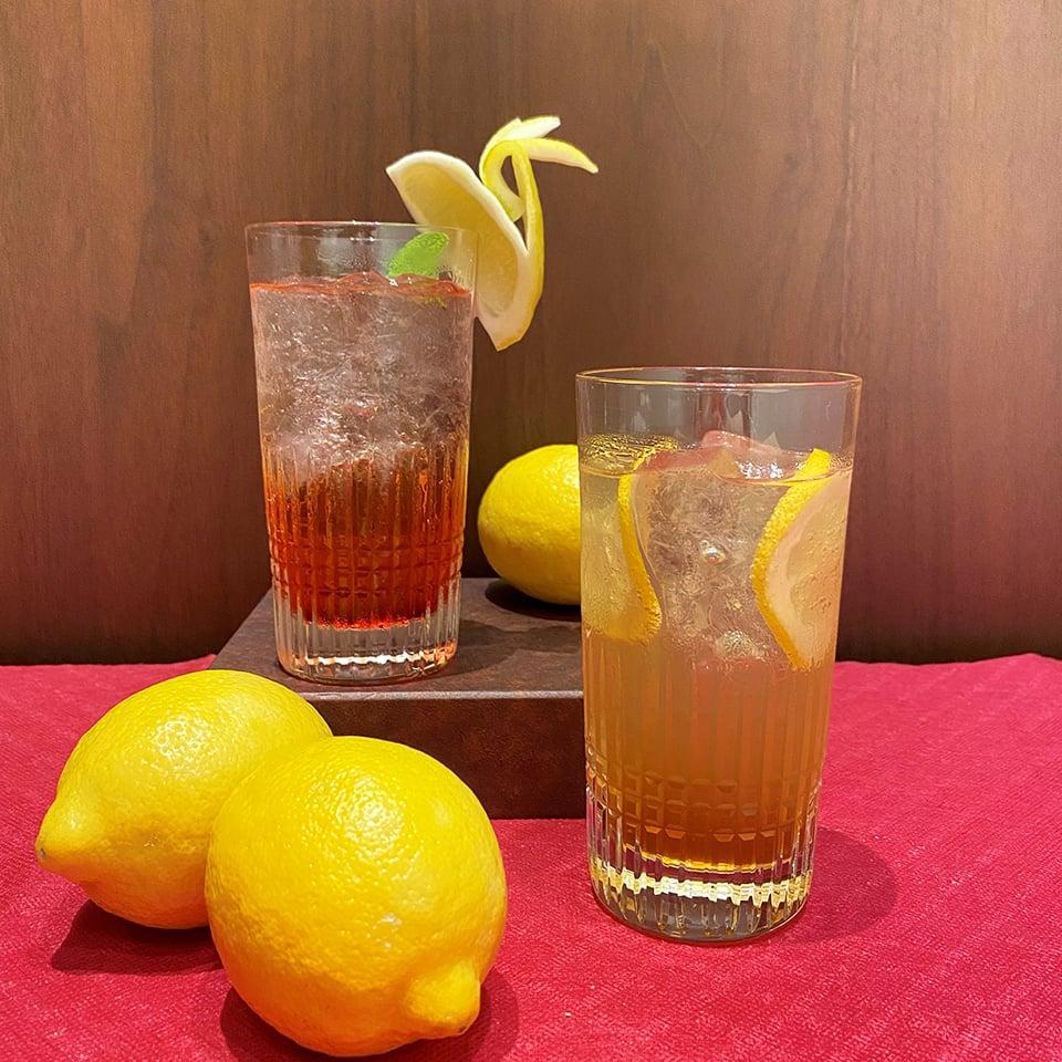 ノンアルコールカクテル2種の写真