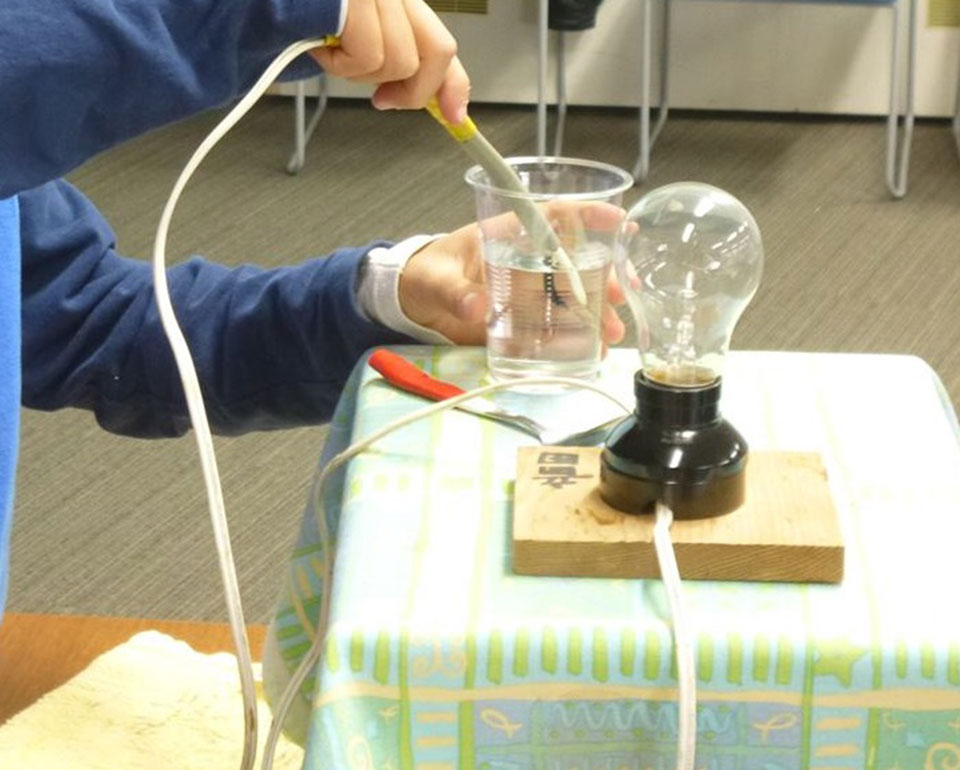 わくわく科学教室・たのしい実験とモノづくり