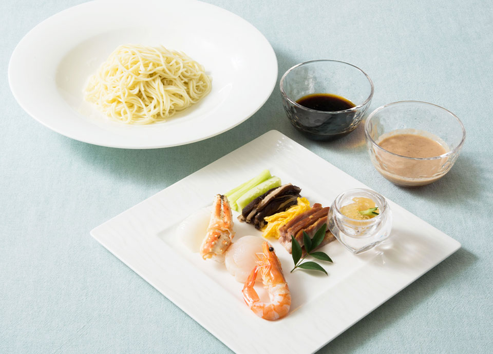 海鮮五目冷麺