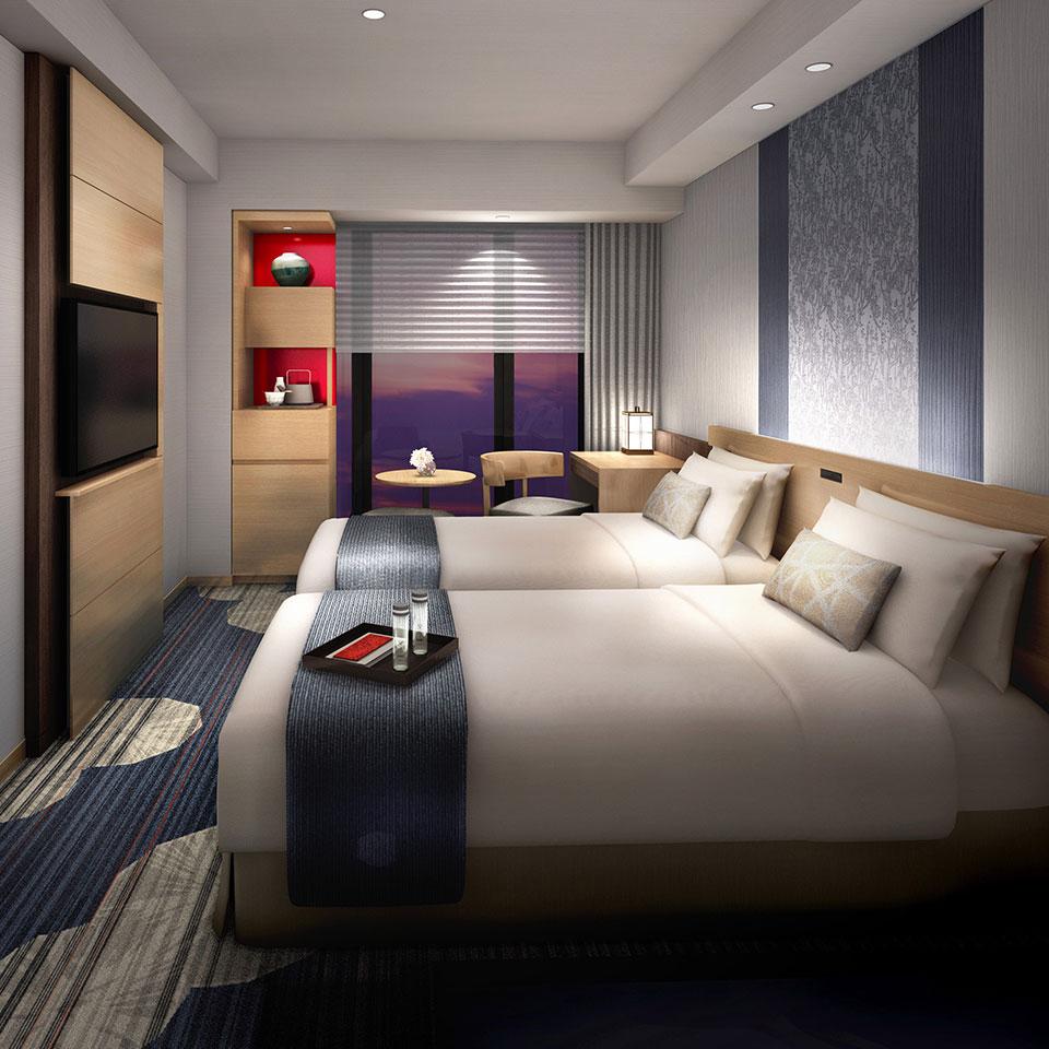 Standard Twin (Guests per room: 2) 21.2㎡