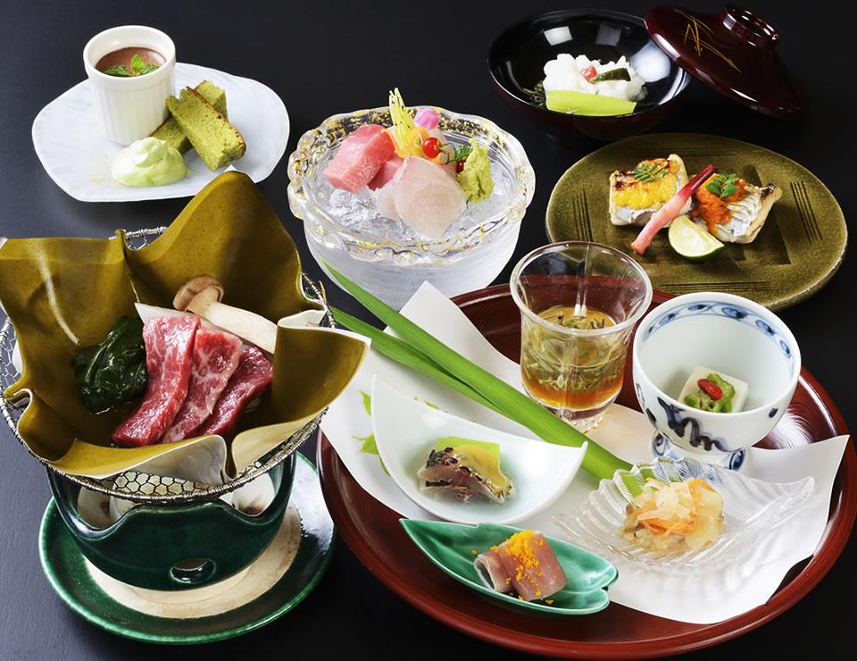 四季折々の日本料理を味わう