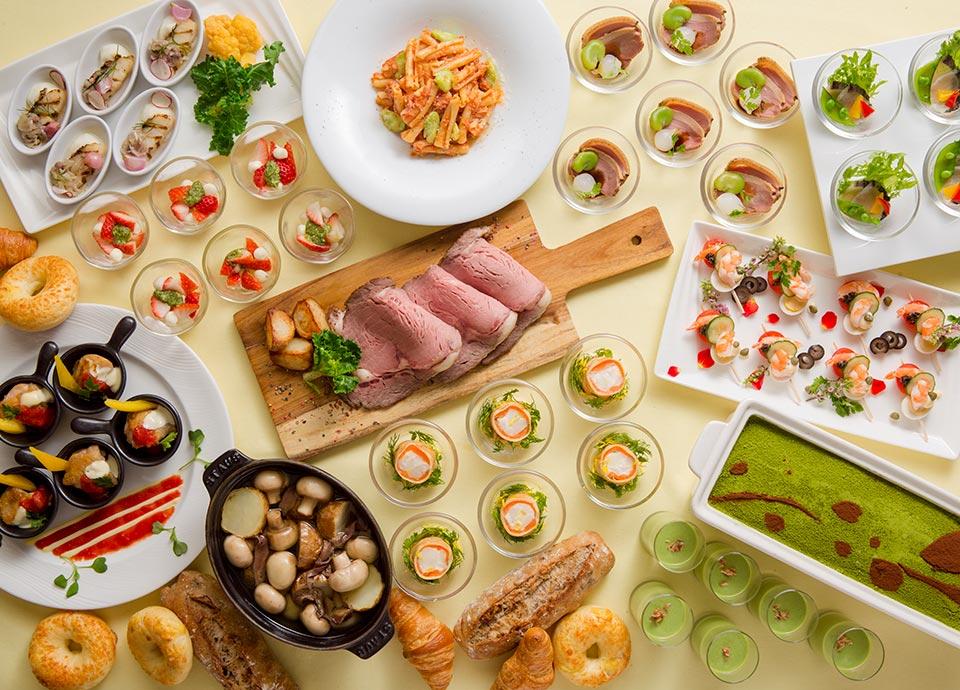 国産牛ローストビーフと屋台にぎり寿司 食べ放題&ディナービュッフェ イメージ