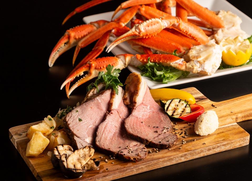 蟹×牛肉料理フェア