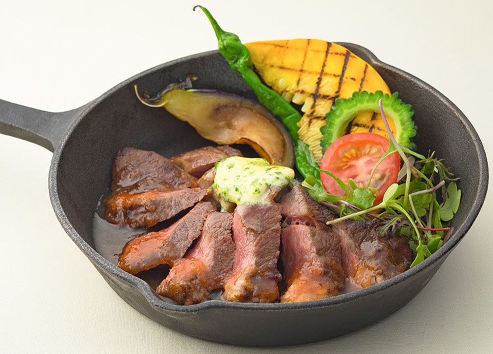 牛肉のグリル メートル・ドテルバター添え イメージ