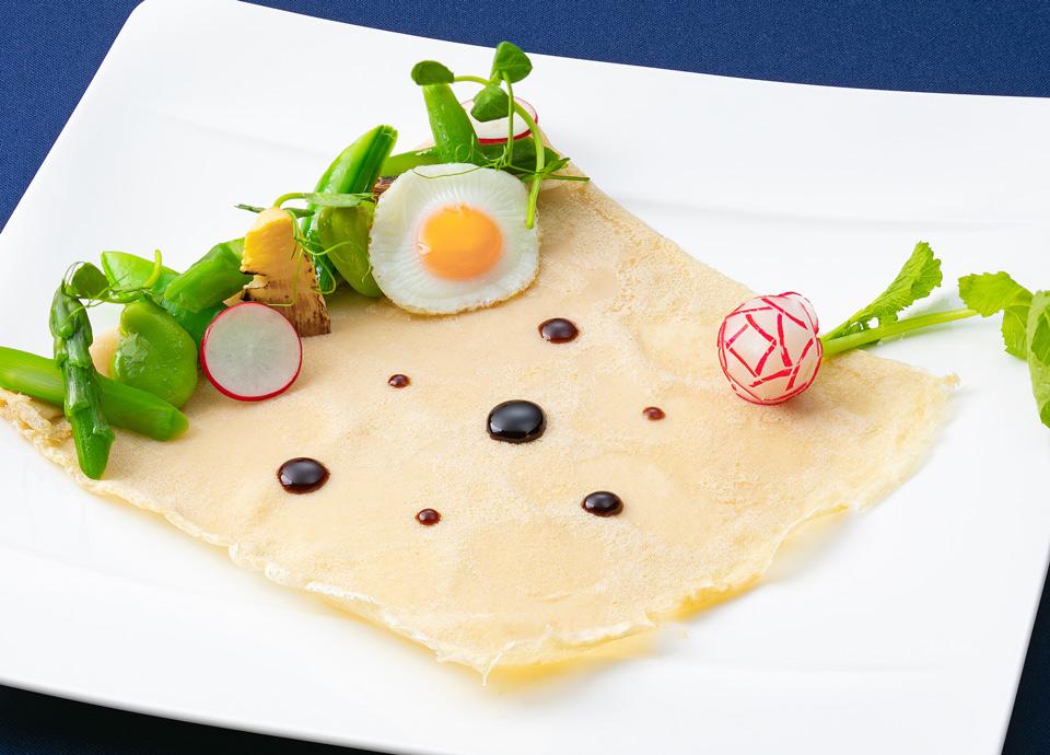 春野菜とチーズのガレット イメージ