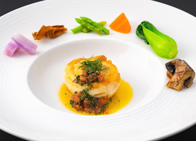 太刀魚のポワレ オリーブソース イメージ