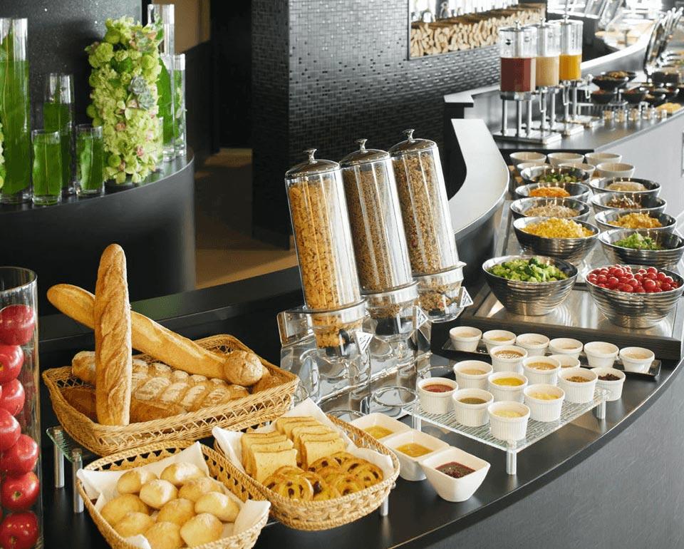 朝食ビュッフェ イメージ