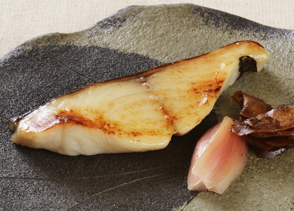 魚の味噌漬け焼き