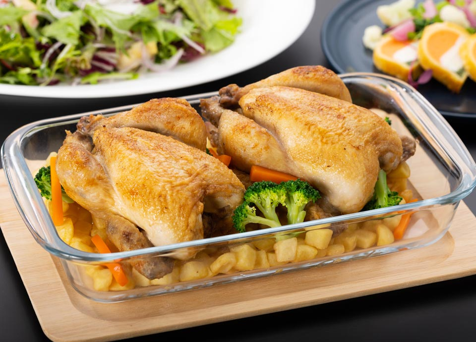 ヒナ鶏のローストチキン イメージ