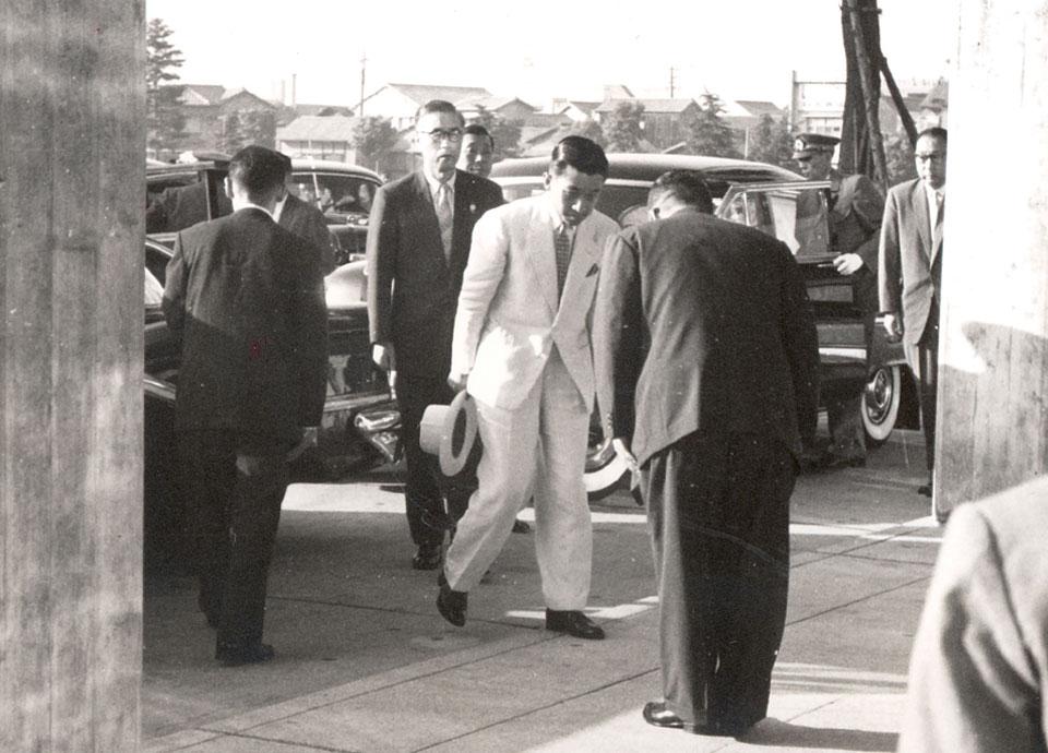 1960年 日米修好100周年パーティ 皇太子殿下行啓