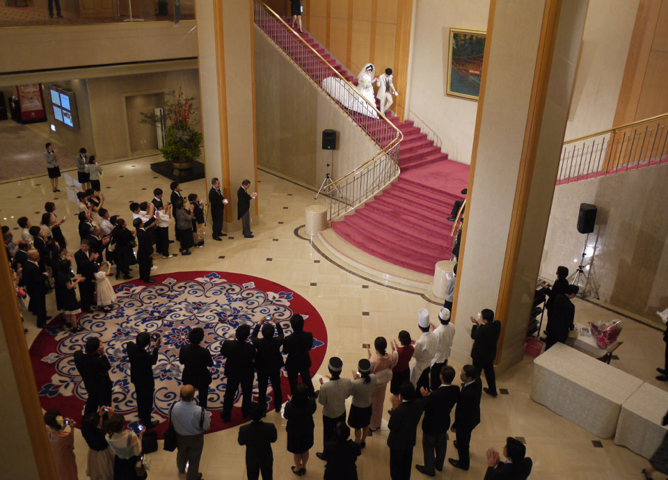 2011年 婚礼2万組達成(2万組目のお祝いセレモニー実施)