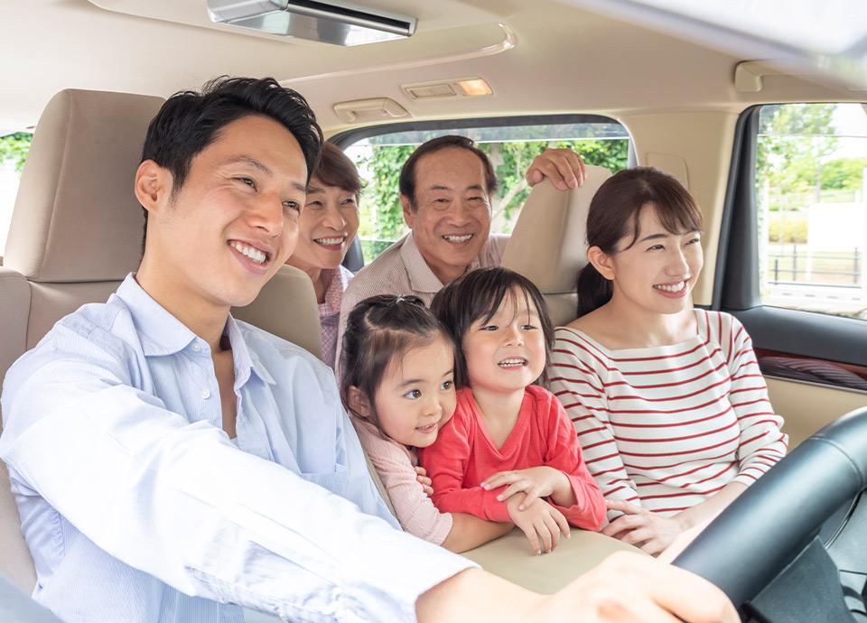 【隣同士確約】みんなで泊まって行きんさい! 3世代ご家族歓迎シルバーウイークプラン 駐車場無料の特典付