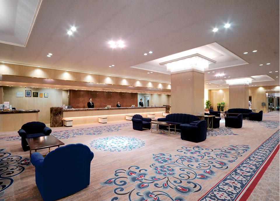 1階ロビー 香りのおもてなし リーガロイヤルホテル広島だけで味わえる「心地よさ」と「癒し」の香り