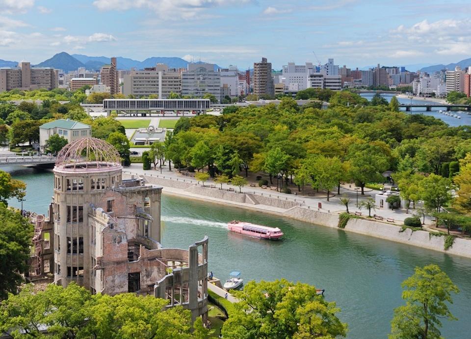 【ファミリーステイ】広島バスセンター隣接&平和記念公園へ徒歩5分の好立地 ~選べる朝食付き~