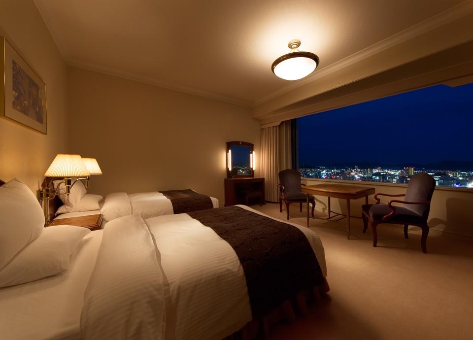 【贅沢で高級感溢れる客室】30・31階エグゼクティブフロアーステイ