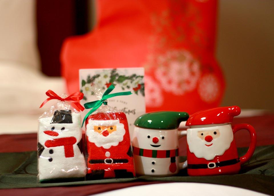 【ちょっと早めのクリスマス】お子様が喜ぶサンタブーツ&思い出フォト&ディナービュッフェ付