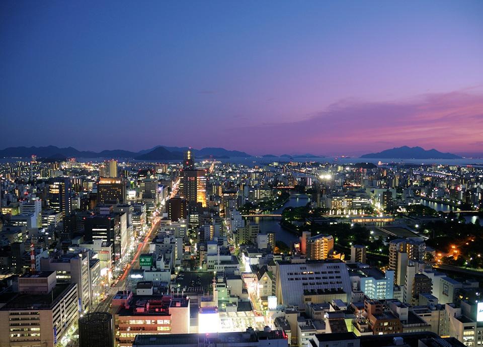 【高層階の美景を満喫】26~28階パノラマビューで広島観覧<br>スーペリアフロアーステイ