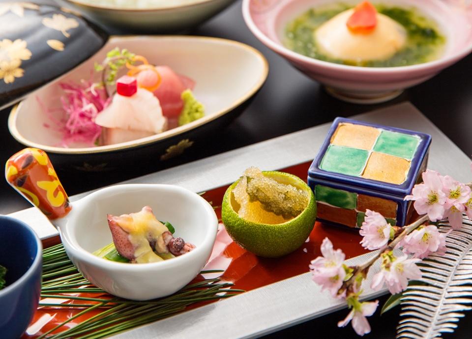 「夜桜懐石」日本料理ディナー付プラン