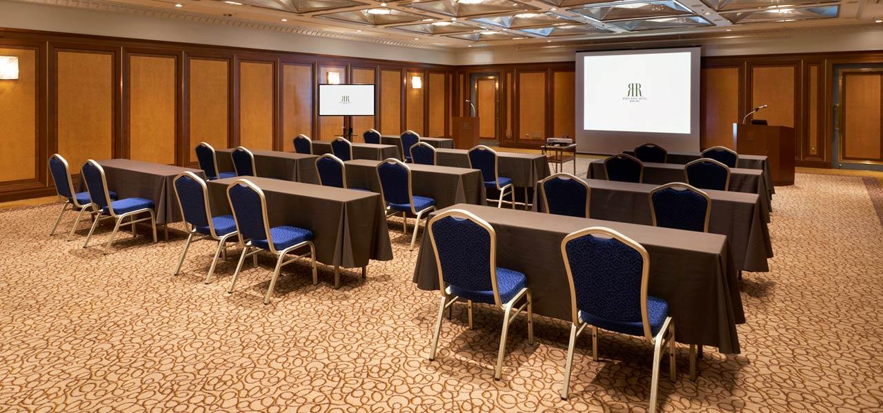 WEB会議の会場写真