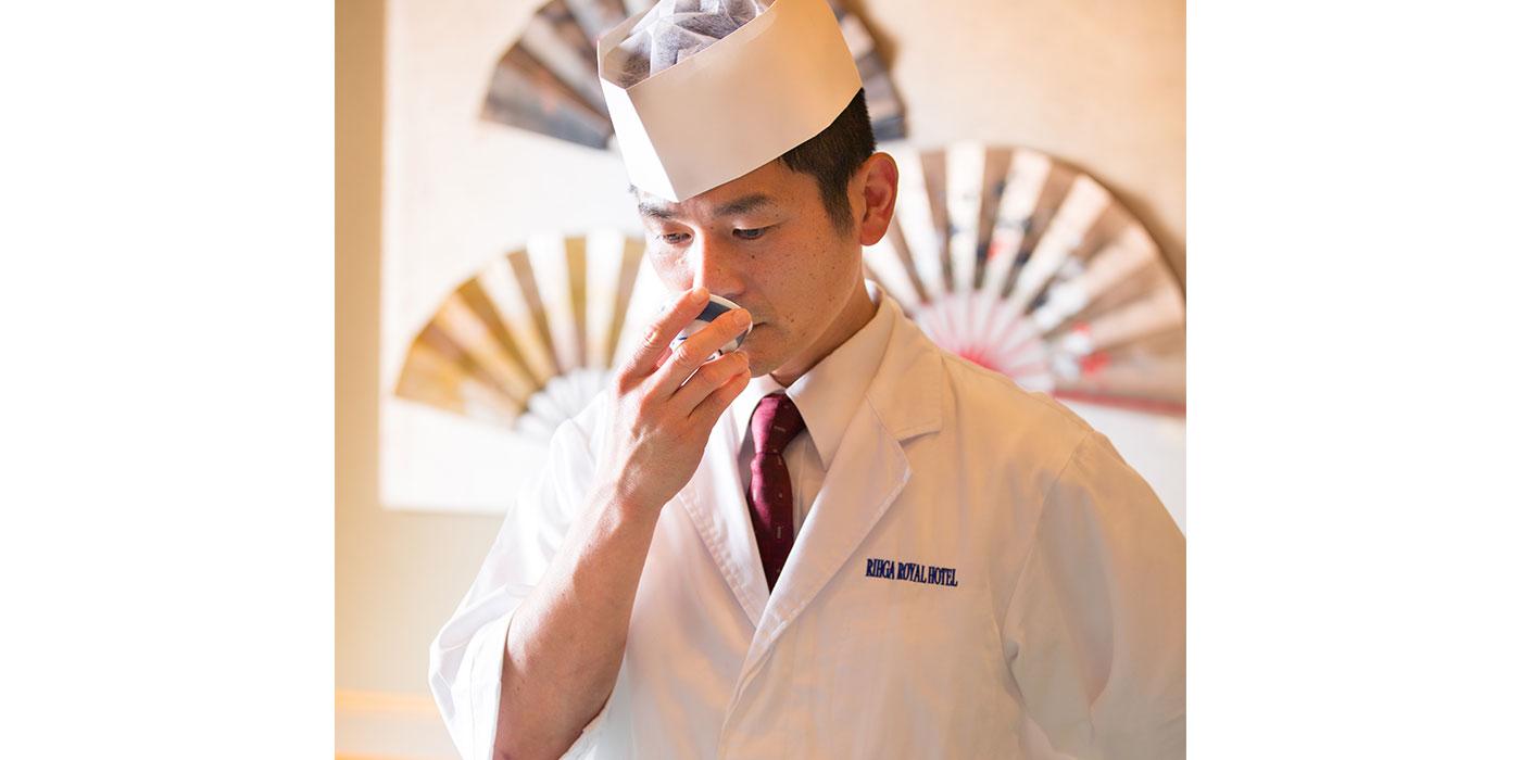 料理長 中村 嘉英が贈る 11月 美食の夕べ