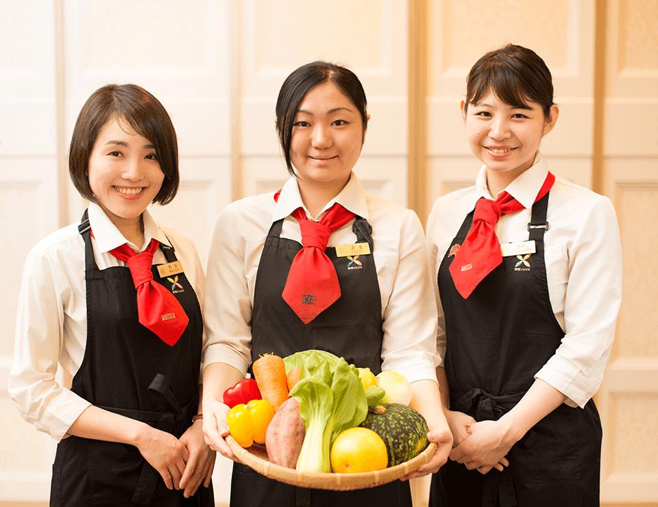 知識と経験を生かし野菜の魅力を伝える