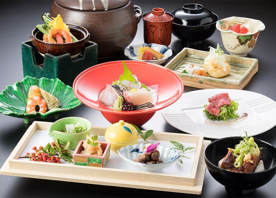 日本料理 なにわ「四季彩会席 冬篭り(ふゆごもり)」