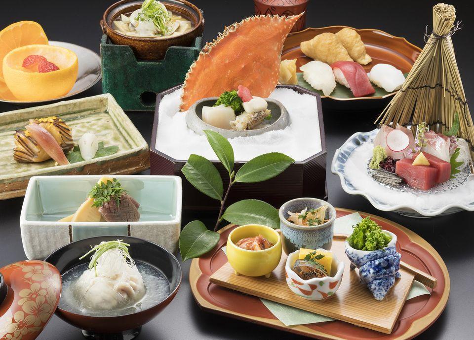 日本料理 なにわ「四季彩会席 立春」
