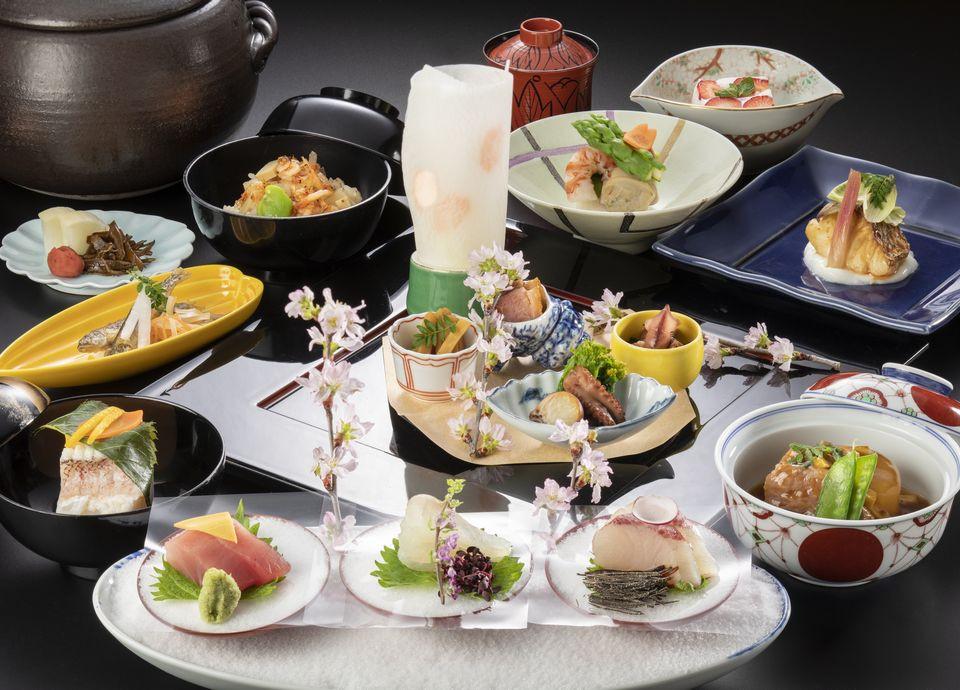 日本料理 なにわ「四季彩会席」