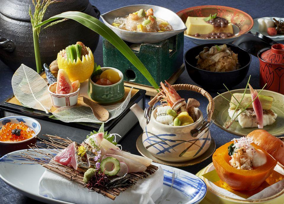 日本ならではの旬の味わいをお愉しみいただける会席(料理イメージ)
