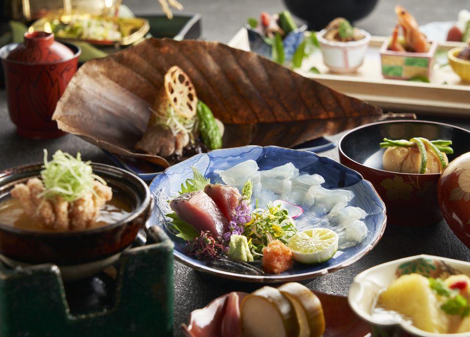 季節の移ろいと洗練された和食をご堪能いただけます(料理イメージ)