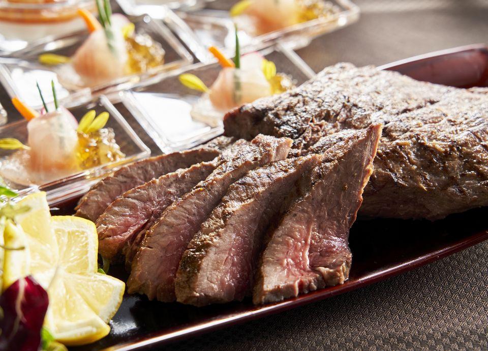 牛肉の鉄板焼 イメージ[ディナー限定]