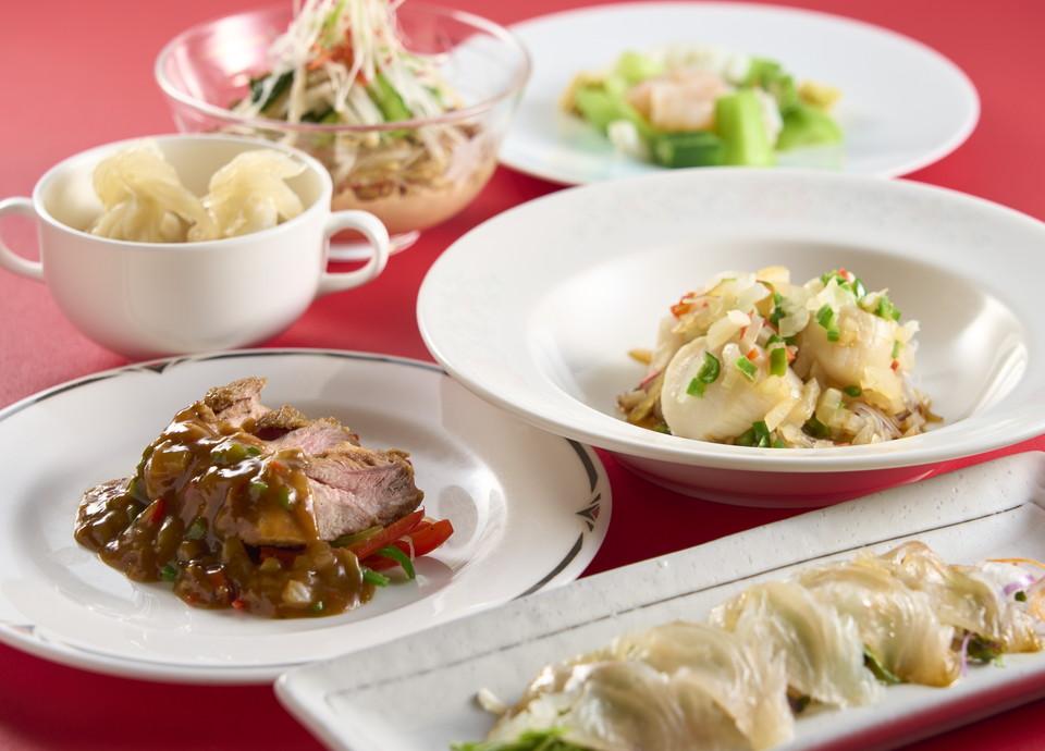 中華料理 龍鳳のコース料理写真