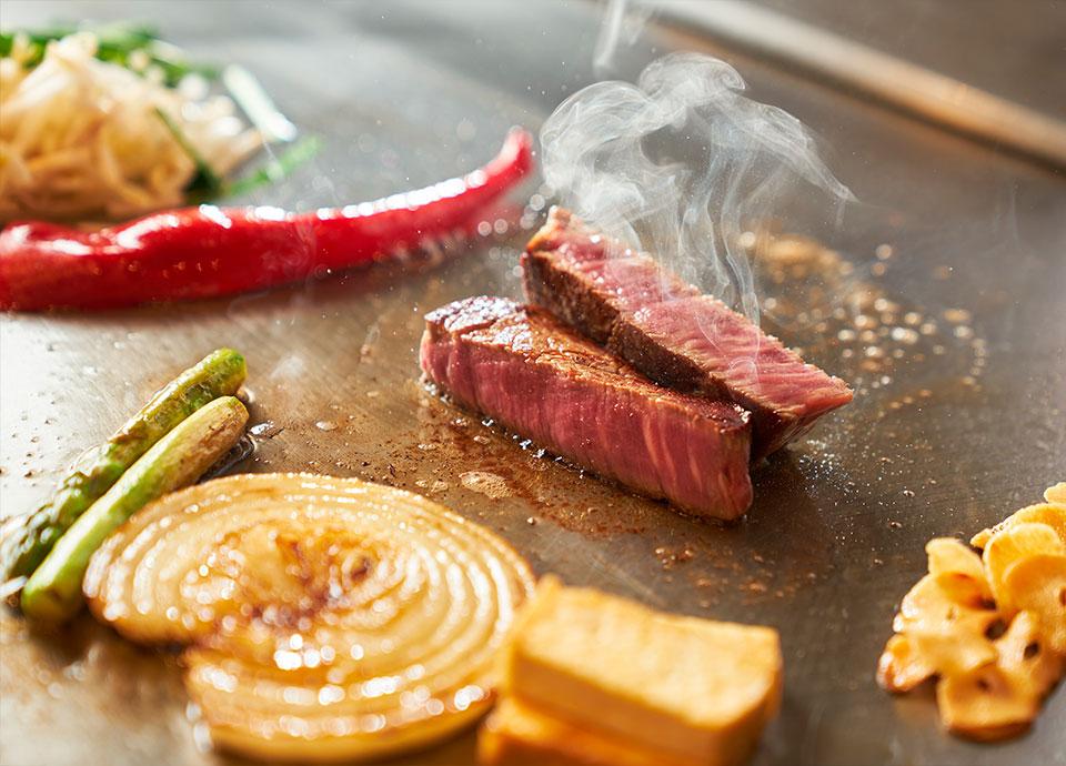 「鉄板焼 なにわ」料理イメージ