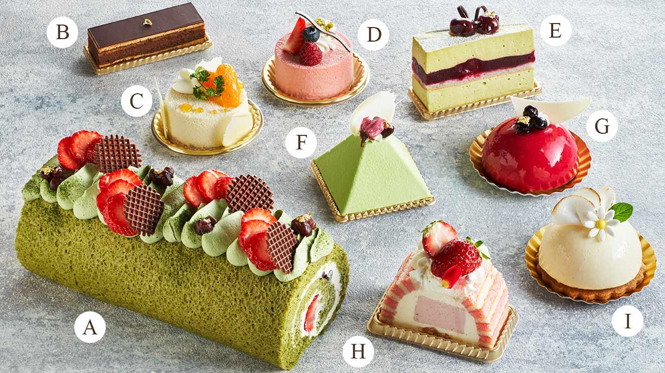 3・4月のケーキ