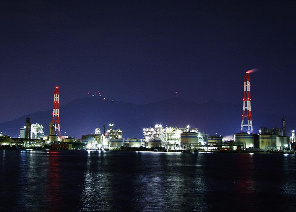 工場夜景満喫ステイ~この街の工場夜景は美しい~
