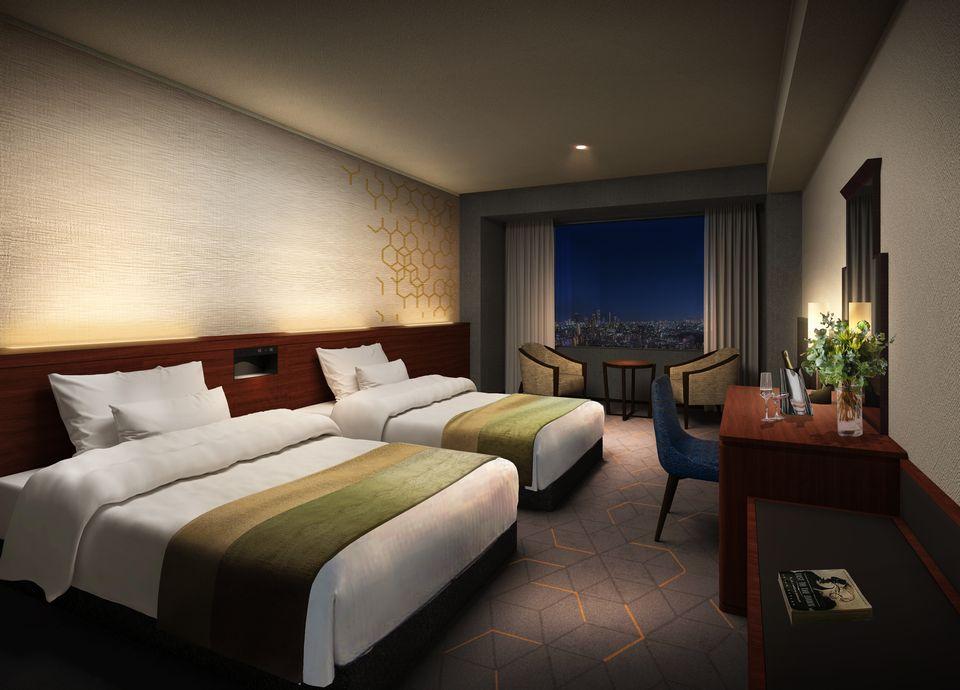 2019年8月 リニューアル 新客室宿泊プラン「光の街ステイ」