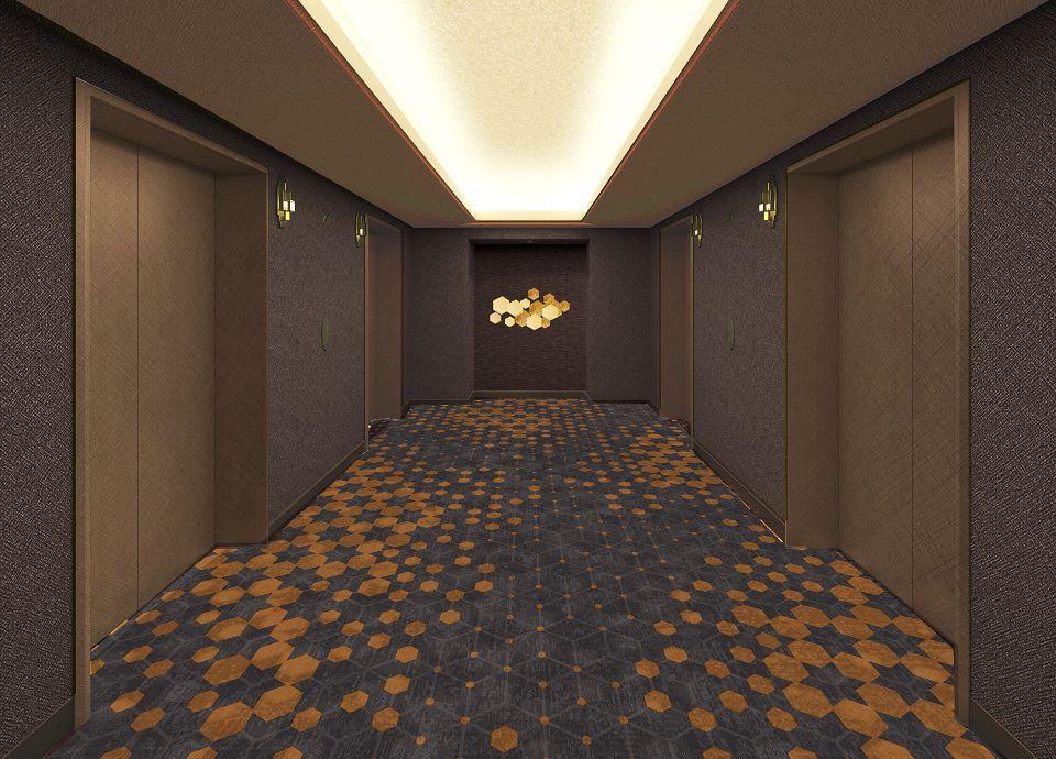 エレベーターホールイメージ リニューアルフロア