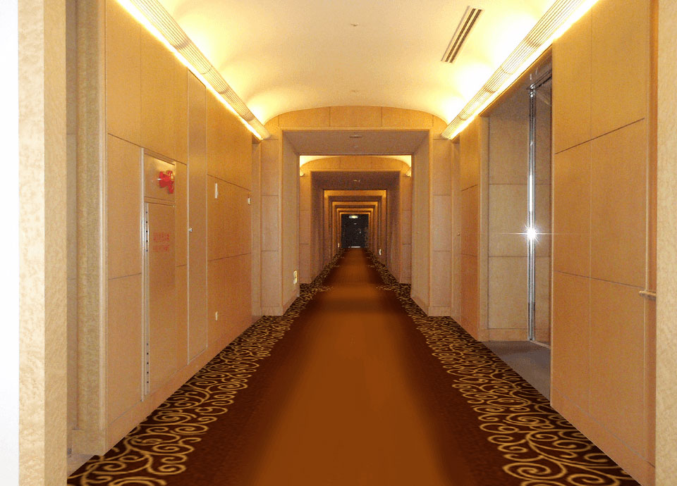 タワー階廊下