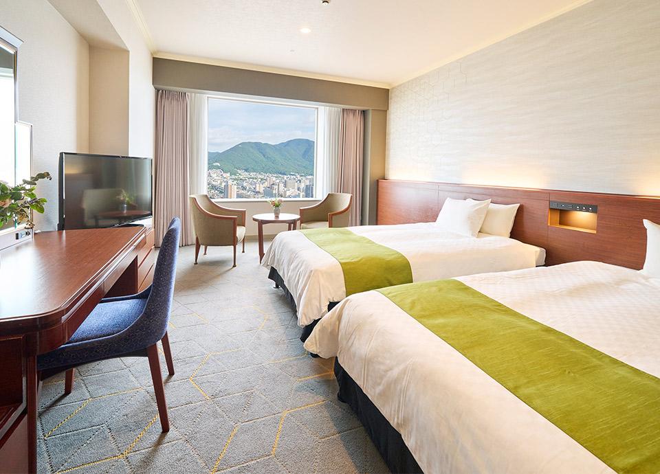 客室イメージ 小倉の夜景を連想させるリニューアルフロア