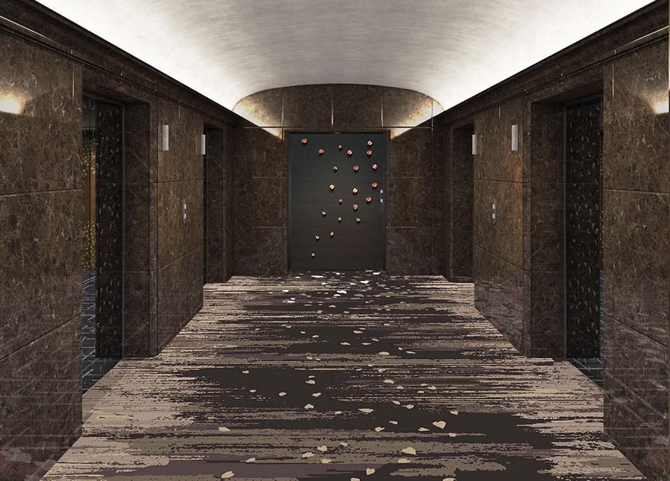 タワーフロアエレベーターホールイメージ