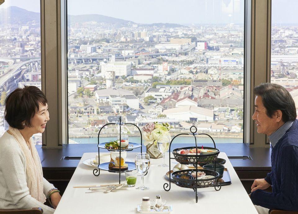 ご朝食イメージ -28階の眺望とともに楽しむ タワーご宿泊者限定特別朝食