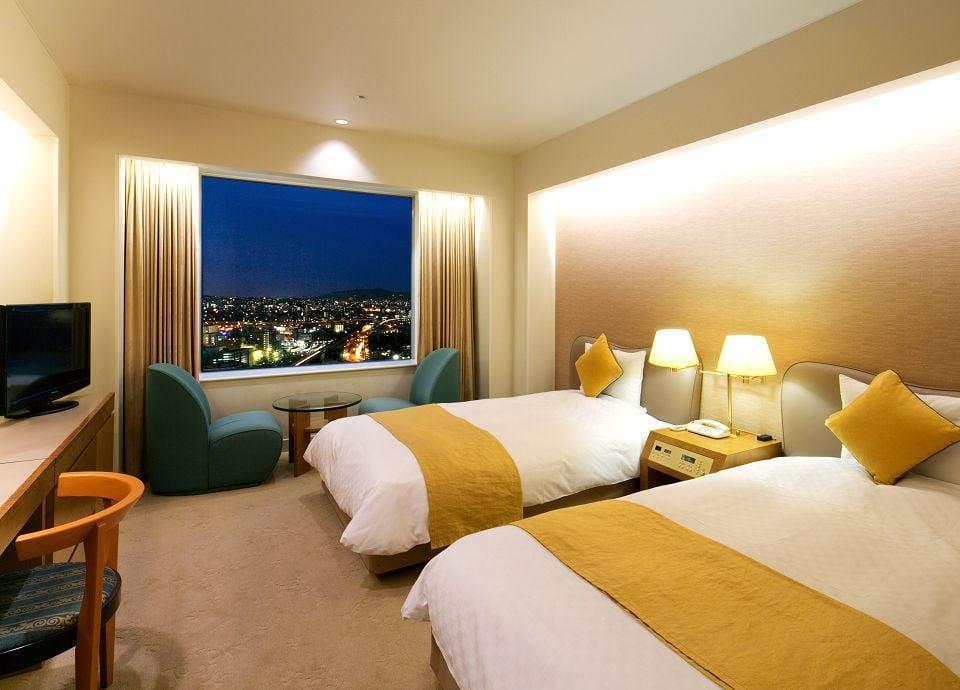 客室イメージ(タワーフロア 26・27階 ツイン30m<sup>2</sup>)