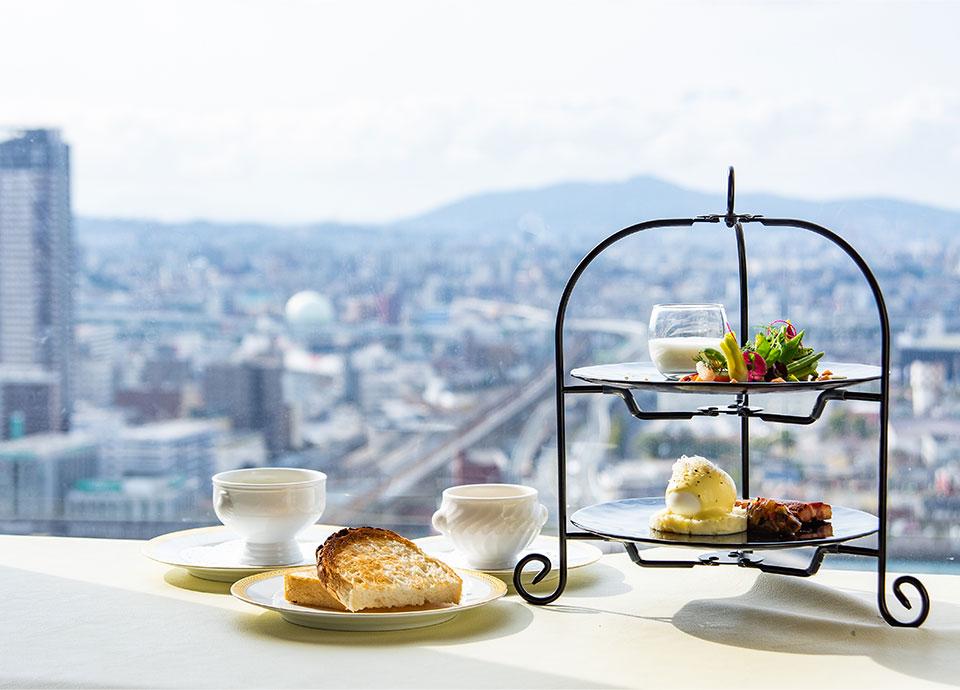 特別朝食と景色 イメージ