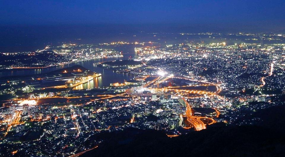 皿倉山(新日本三大夜景)