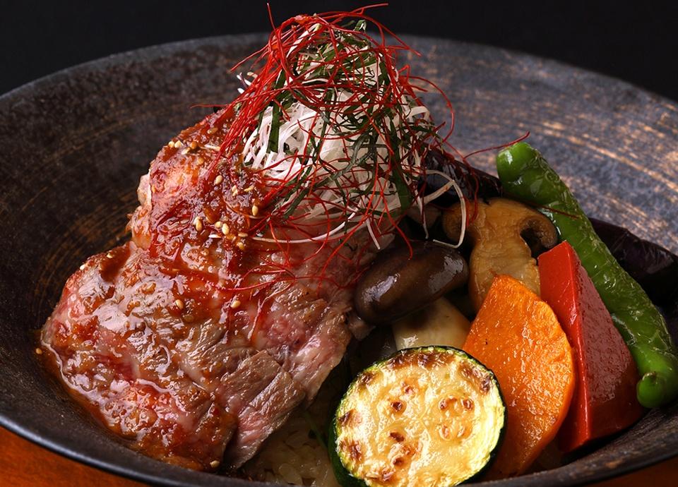 【平日10食限定】葵 ステーキどんぶり