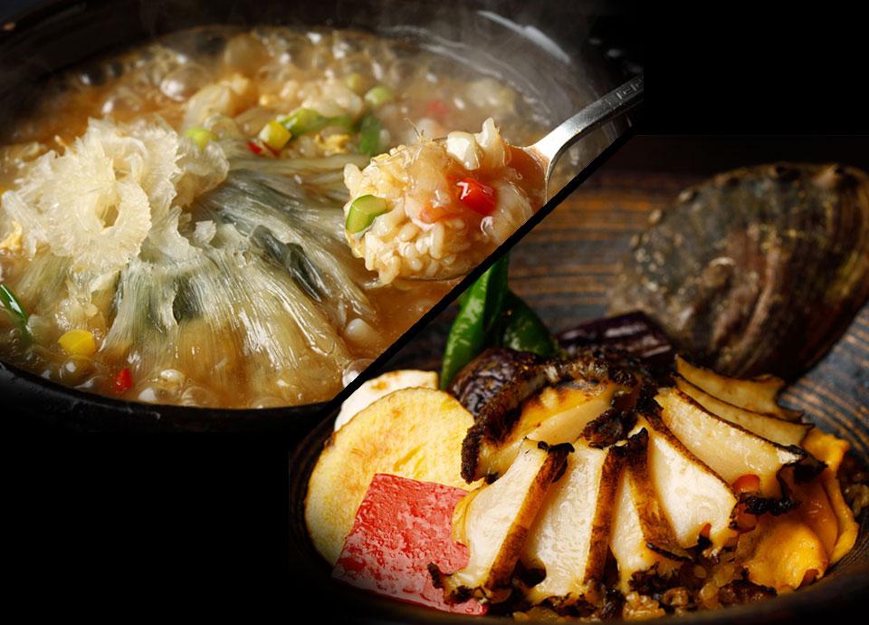 「活鮑丼とフカヒレ丼」、暑い夏に食べるならあなたはどっち!?<br>「夏の丼」対決!!