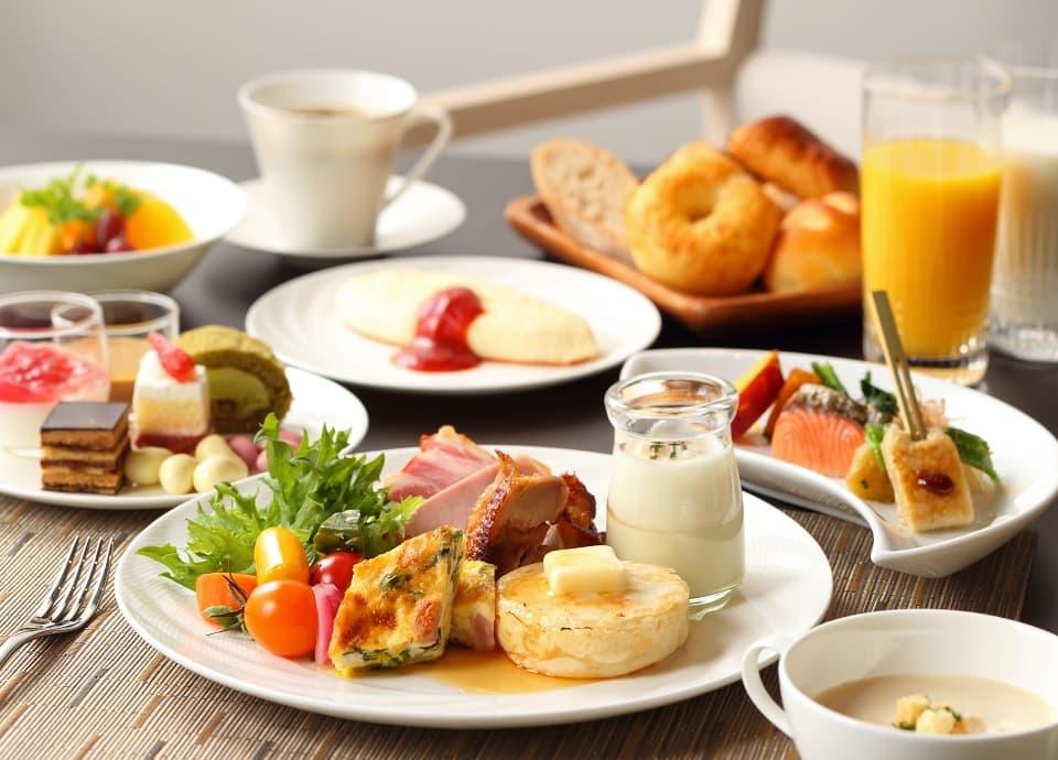 カザの朝食ビュッフェイメージ写真