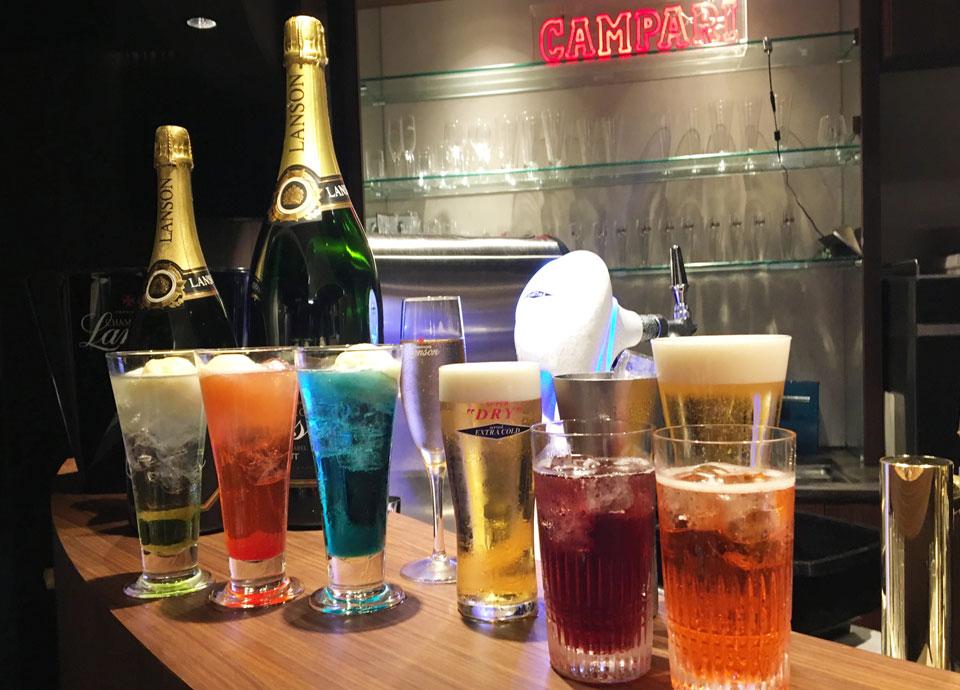 ディナービュッフェ プラス シャンパン&ビア フリーフロー 『LOVE CHAMPAGNE&BEER!!2018』