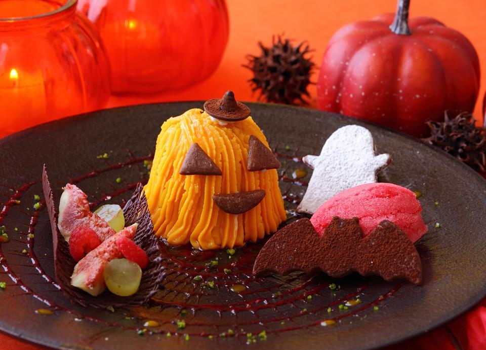 おばけかぼちゃのモンブラン
